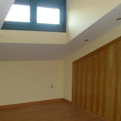 cambio ventanas por balcones en ático*