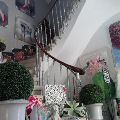 Escalera de LA CASA AZUL