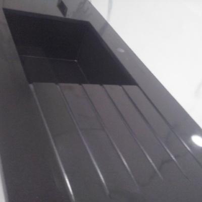 Encimera cocina granito negro intenso