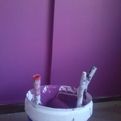 alisado y pintura colores fuertes