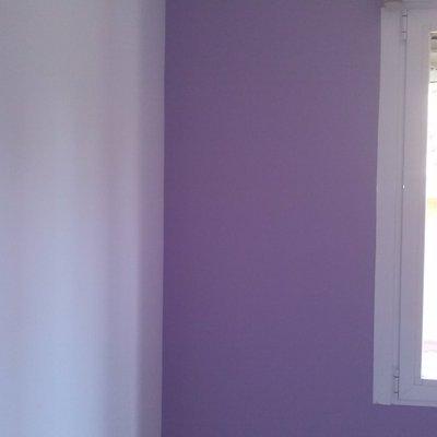 pintura de calidad y en cualquier color que tenga la carta de colores