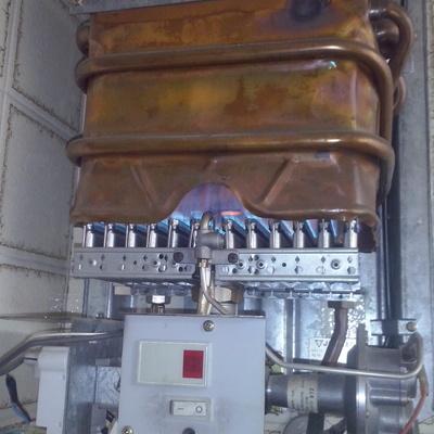 Reparación Calentador de gas