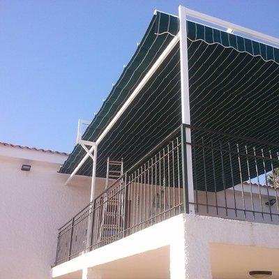 Palilleria para terraza