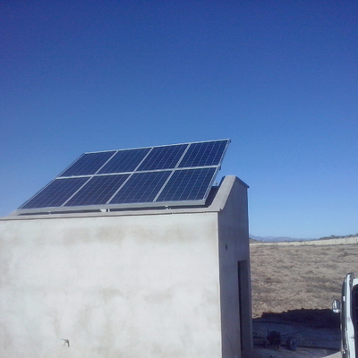 Bombeo solar 1.5Cv por control remoto