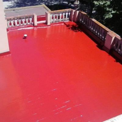 Impermeabilizaciones con poliurea sobra baldosa o terrazo...