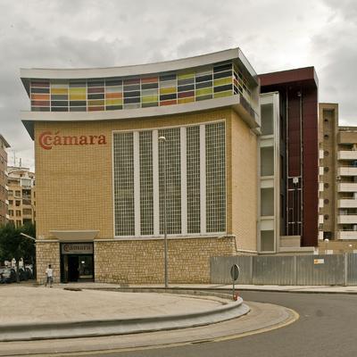 Camara de Comercio de Huesca vista exterior