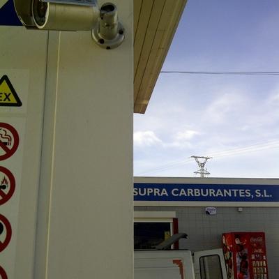Cámaras gasolinera Supra carburantes