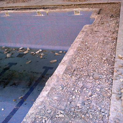 cambiar playa piscina