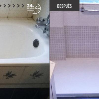 sustitucion de bañera por plato