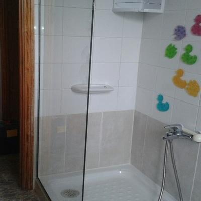 Cambio de bañera por plato de ducha + mampara
