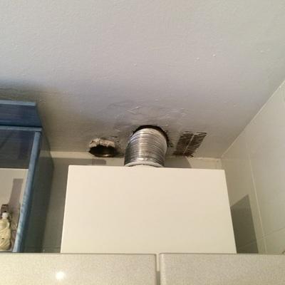 Cambio de tubería de salida de caldera