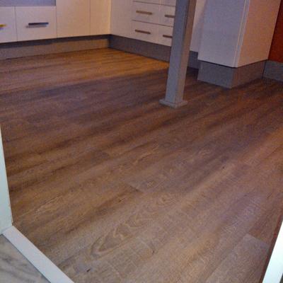 Reformar suelo de cocina sin obra - Suelo de cocina sin obra ...