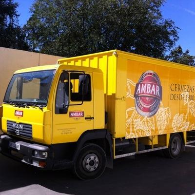 camion CERVEZAS AMBAR