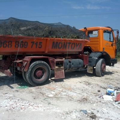 Camión contenedores