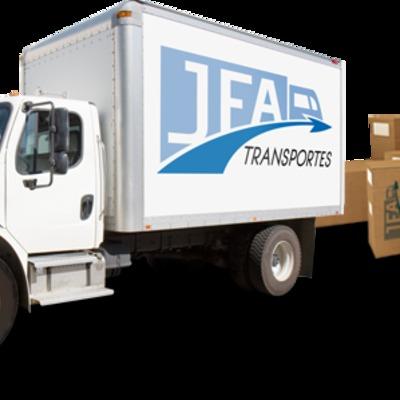 Camión de Mudanzas JFA Transportes
