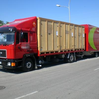 Camion Porta-Contenedores