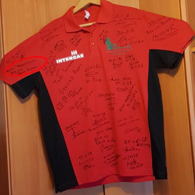 """Camiseta de """"Clientes Intergas"""""""