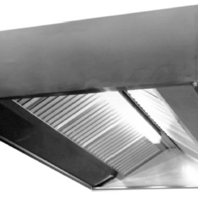 Fabricación de campana extractora para restaurante