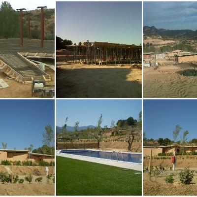 Camping en Bot- Terra Alta - Tarragona