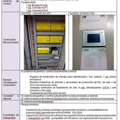 Inventario técnico de instalaciones RITE (2013)