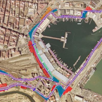 Circuito F1 Puerto de Valencia