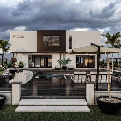 Proyecto vivienda Bétera Vista exterior 2