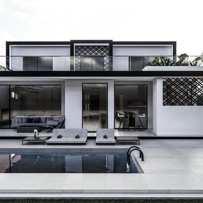 Proyecto vivienda Bétera Vista exterior 3