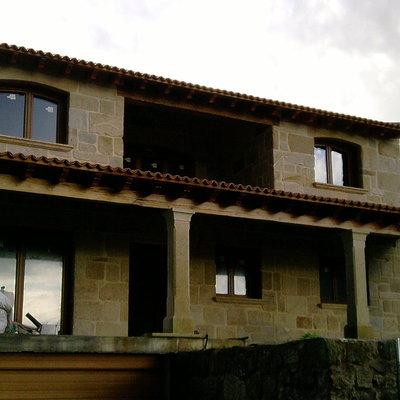 Casa de piedra de mampostería