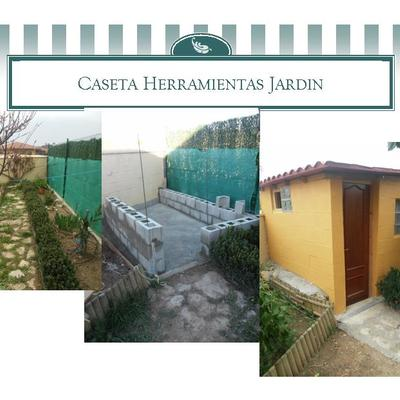 CASETA DE JARDÍN PARA ALMACENAJE