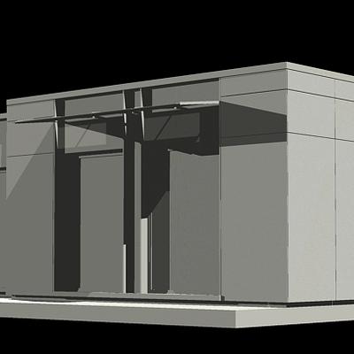Casa modular cubica