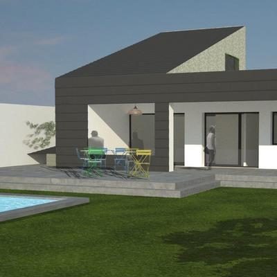 Casa M&N Fachada Principal
