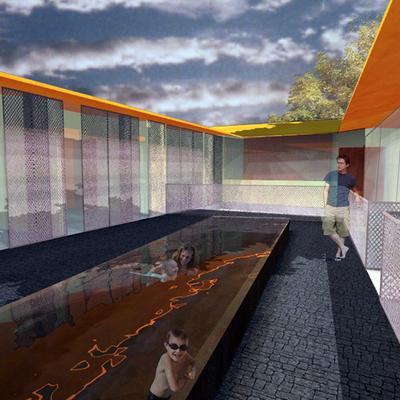 Casa M+_Patio Planta Primera