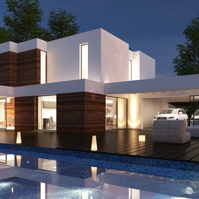 Proyecto Chalet Moderno
