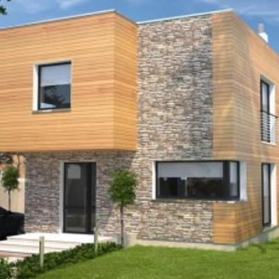 casa prefabricada madera/ mixta