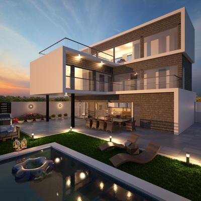 Proyecto para vivienda en Playa Granada
