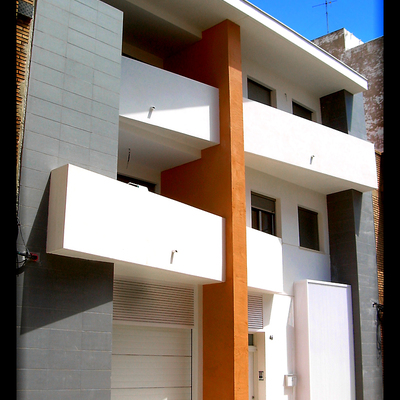 Casa Teresa. Puerto de Sagunto. DAU arquitectos.