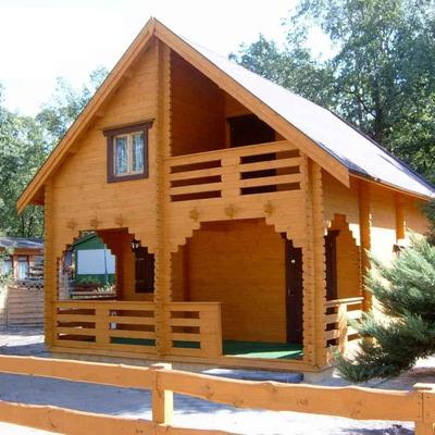 Casas de madera a medida.