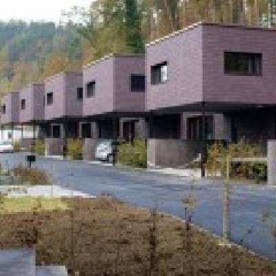 Casas-Hogar en fila, Suiza
