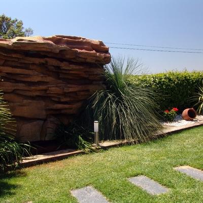 cascada piedra artificial