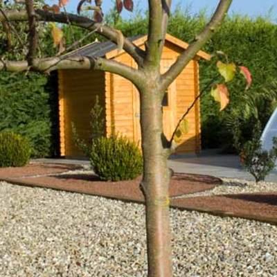 Casetas y jardines de bajo mantenimiento, nuestro placer.