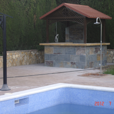 Casita piscina