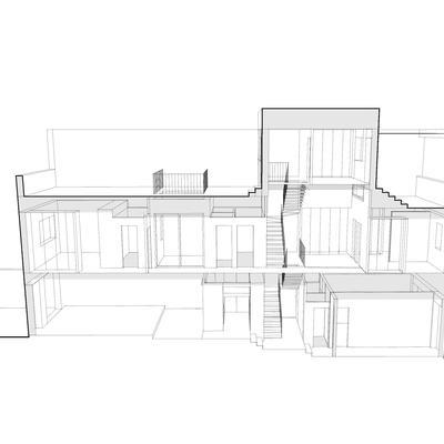 Casa CC-15. Perspectiva