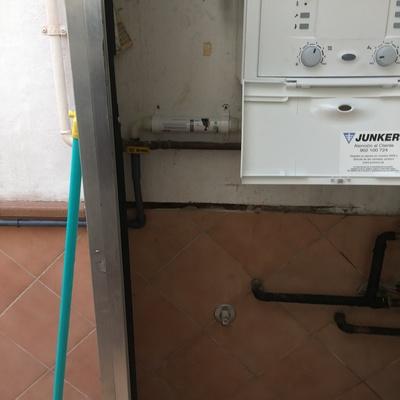 Filtro de condensados para desagüe de plomo