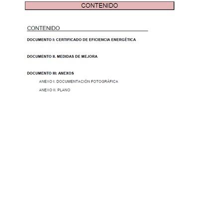 Certificado de eficiencia energética de vivienda individual