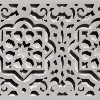 Cenefa decorativa tallada Nazarí