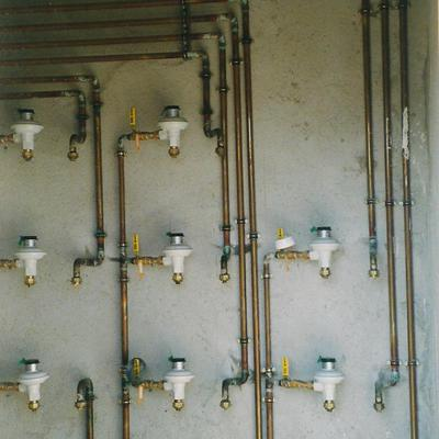 Centralización de contadores de gas