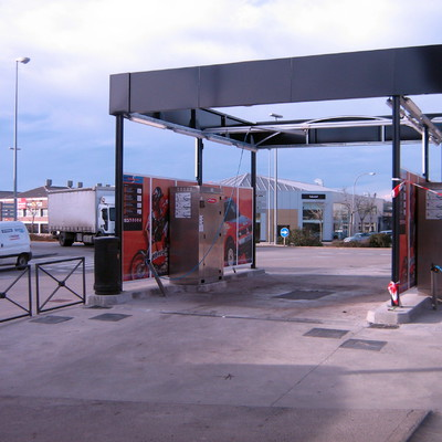 Obra civil para la construcción de un centro de lavado de automóviles
