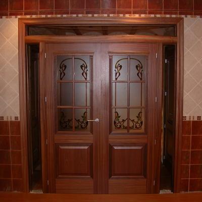 Puerta doble comedor