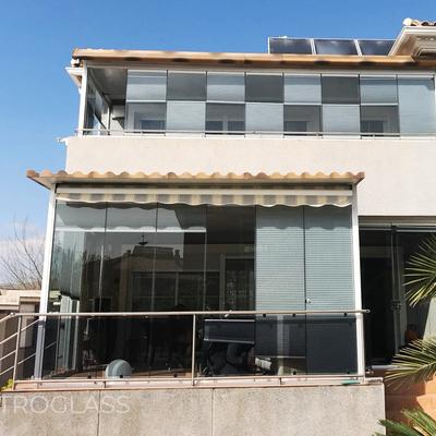Cortinas de cristal para balcones
