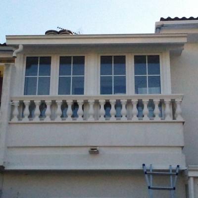 Cerramiento balcón pvc Schüco